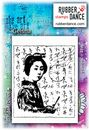 Rubber Dance Unmounted Stamp Set - Geisha